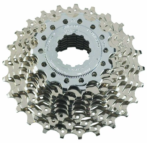 SHIMANO CS-HG50 Tiagra/105 Bicycle Cassette (9-Speed, 12/25T, Silver) ()