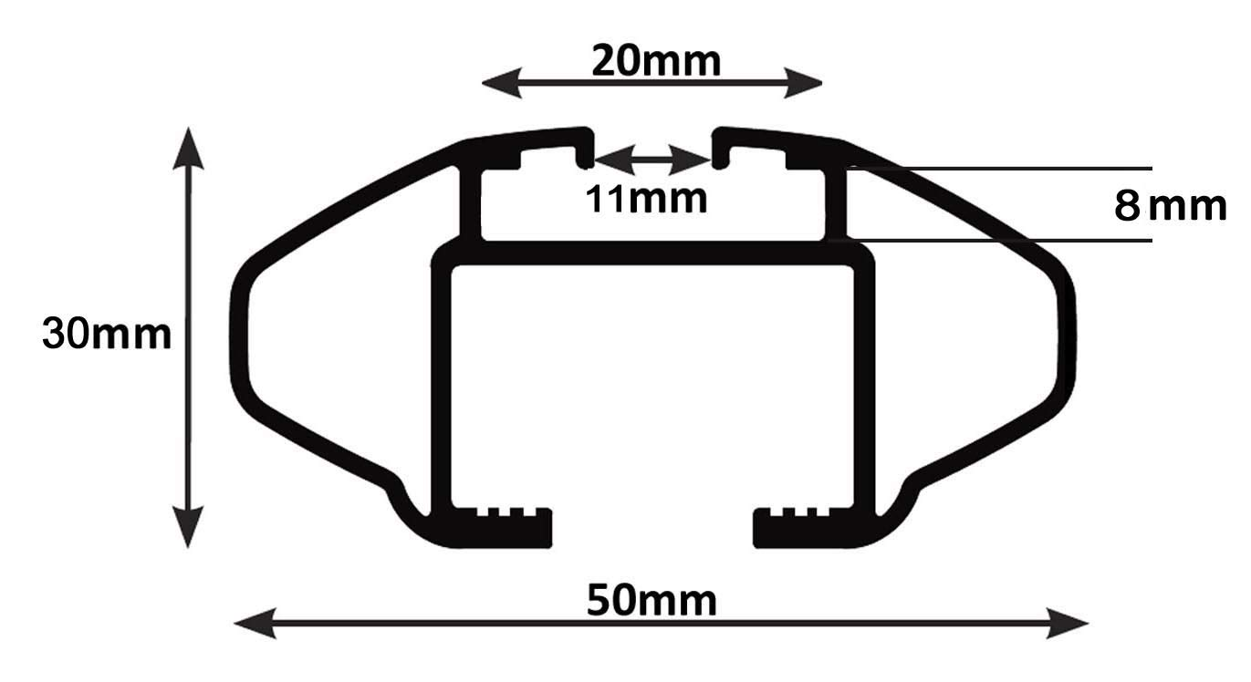 ab 2012 5T/ürer Dachbox VDPBA320 320Ltr carbonlook abschlie/ßbar Alu Dachtr/äger RB003 kompatibel mit Peugeot 4008