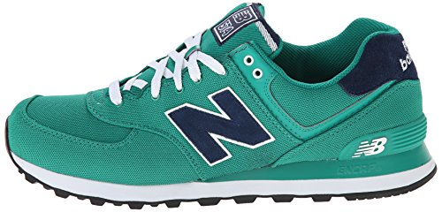 888546365933 - New Balance Men's ML574 Pique Polo Pack Classic Running Shoe, Green, 7 D US carousel main 4