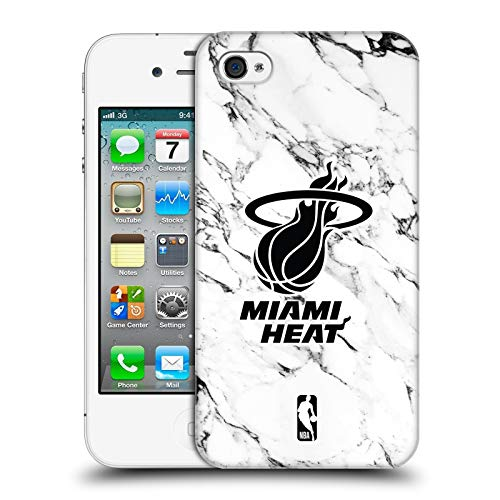 arble 2018/19 Miami Heat Hard Back Case for iPhone 4 / iPhone 4S ()