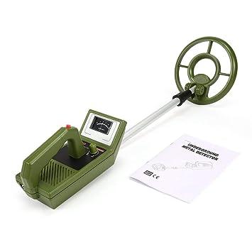 Jiobapiongxin Detector de Metales subterráneo del buscador de Metales del Detector de Metales MD3008 Buscador de excavadores del Oro: Amazon.es: Jardín
