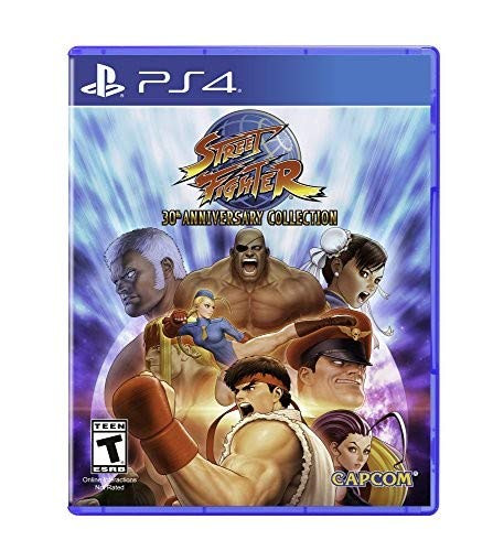 - Street Fighter 30th Anniversary Collection - PlayStation 4 Standard Edition