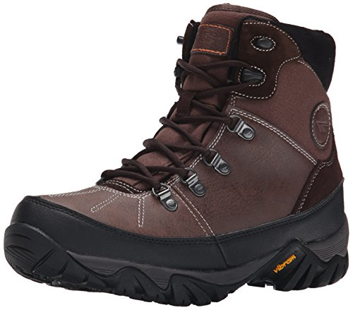 Hi-Tec Men's Trooper Shield 200 I Waterproof Winter Boot, Chocolate/Black, 8.5 M US