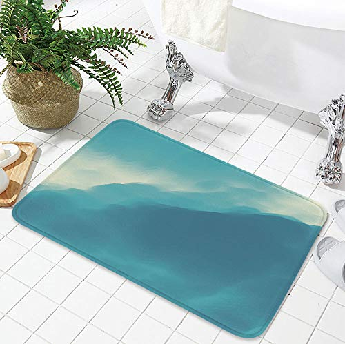 YOLIYANA Water Absorption Non-Slip Mat,Modern Decor,for Corridor Study Room Bathroom,19.69