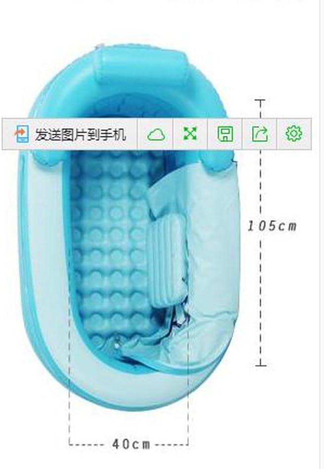 Amazon.com: Portable Adulto inflable baño tina barril de ...