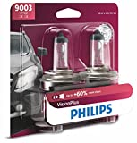volkswagen passat 2000 headlights - Philips 9003VPB2  VisionPlus Upgrade Headlight Bulb, Pack of 2