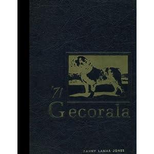 (Reprint) 1972 Yearbook: Geneva County High School, Hartford, Alabama 1972 Yearbook Staff of Geneva County High School