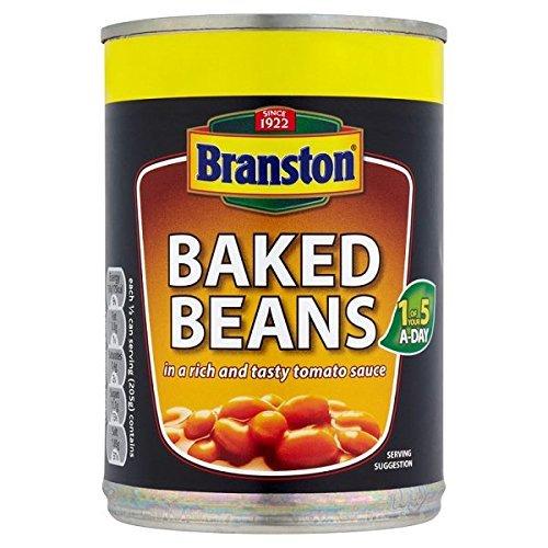 Frijoles Branston al horno con salsa de tomate - 8 x 410gm