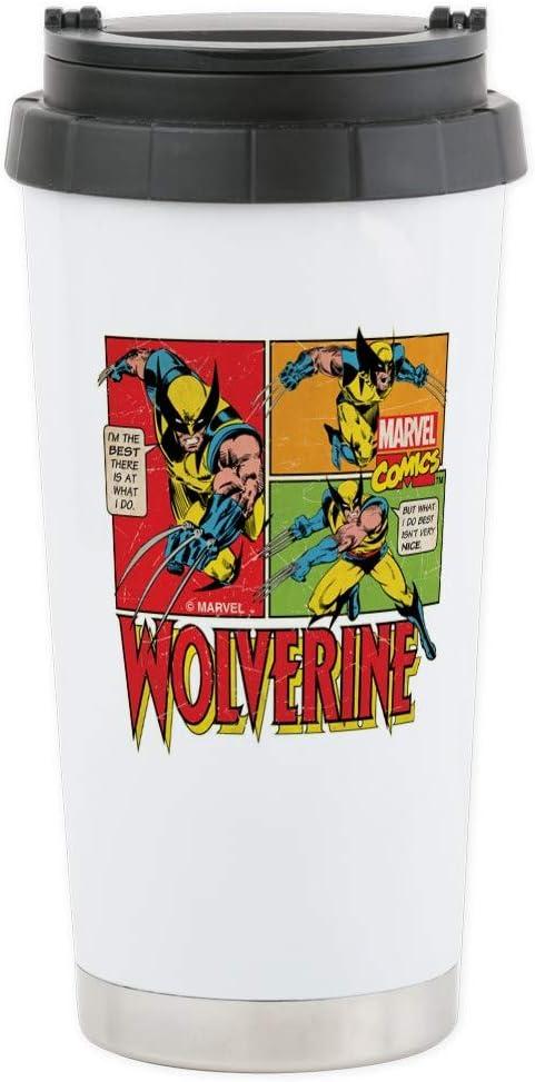 CafePress taza de viaje de acero inoxidable – Wolverine Comic ...