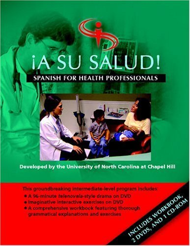A Su Salud! (set): Spanish for Health Professionals by Chapel Hill UNC - Malls Hill Chapel