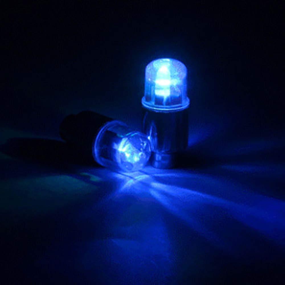 moto bici luci LED neon in lega per pneumatici per auto KENANLANLAN