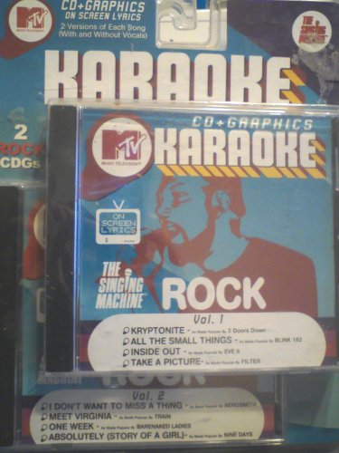 MTV Karaoke Rock Volume 1+2 (2 Pack)