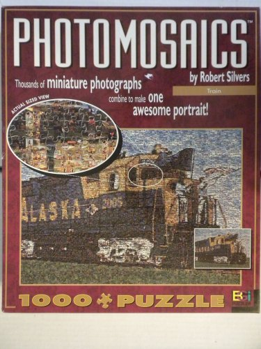 Photomosaic Train by Robert Silvers