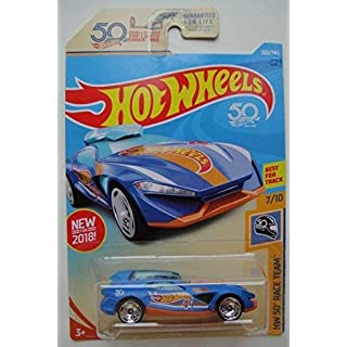 Hot Wheels HW 50 RACE TEAM 7/10, BLUE FAST MASTER 260/365