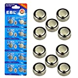 #8: EBL Button Cell Battery LR44 AG13 G13A A76 L1154 Alkaline Battery (20pcs)