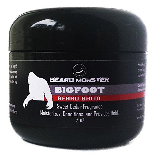 Bigfoot barbe Baume cire cèdre doux parfum 2 oz.