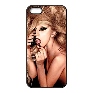 QSWHXN Diy Lady Gaga Selling Hard Back Case for Iphone 5 5g 5s