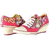 Ed Hardy Women's Bret Wedge Heel Shoe Sneakers