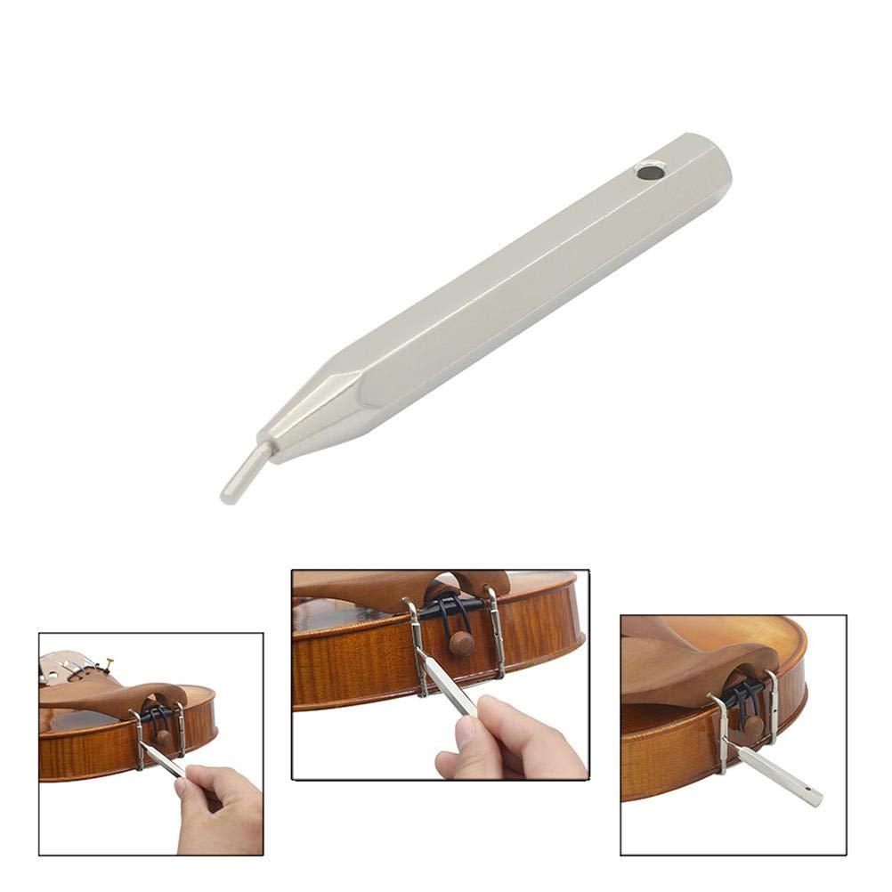 OBANGONG Violin Sound Post Setter Repair Tool Violin Luthier Tool Set,Shoulder Rest Shaft Screwdriver,4//4 Violin Tail Cord