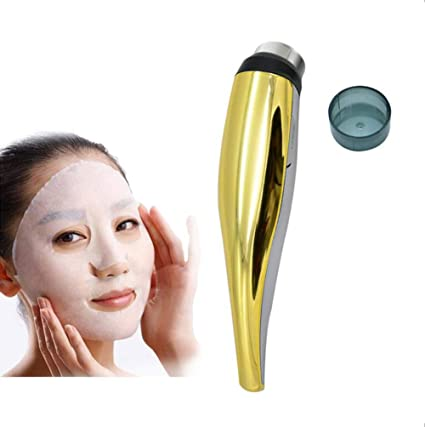 Terapia De Acné Masajeador Facial, Dispositivo Caliente De La Belleza Del Ultrasónico LED Del Cuerpo