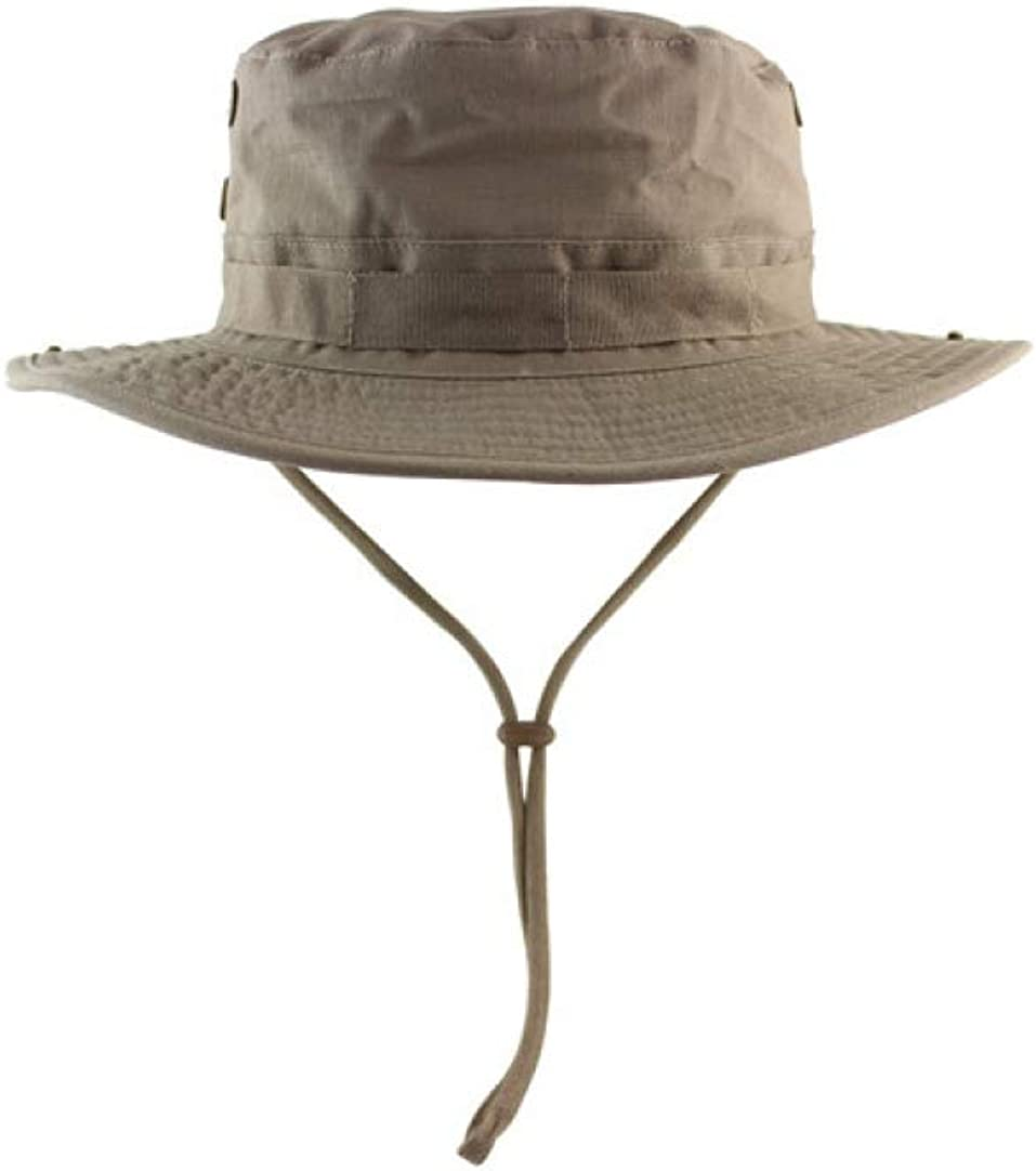 Men Women Summer Bucket Hats Outdoor Fishing Wide Brim Sun Protection Panama Hat Hiking Sombrero Boonie Hat