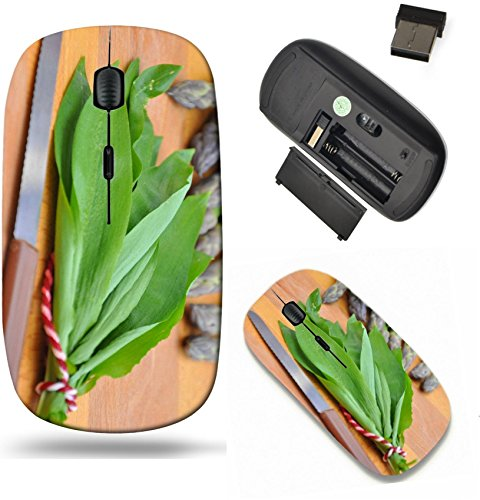 Liili Wireless Mouse Travel 2.4G Wireless Mice with USB Receiver, Click with 1000 DPI for notebook, pc, laptop, computer, mac book Fresh asparagus with wild garlic IMAGE ID 191394