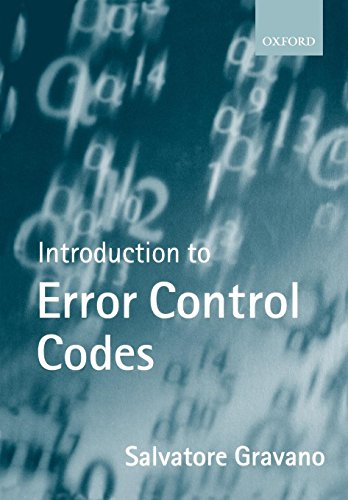 Introduction to Error Control Codes (Textbooks in Electrical and Electronic Engineering)