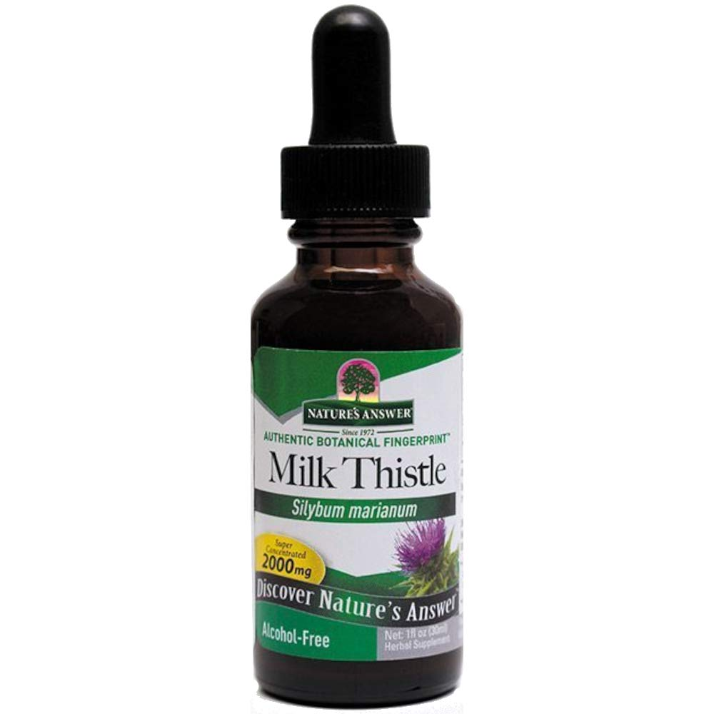 Natures Answer Afs Milk Thistle