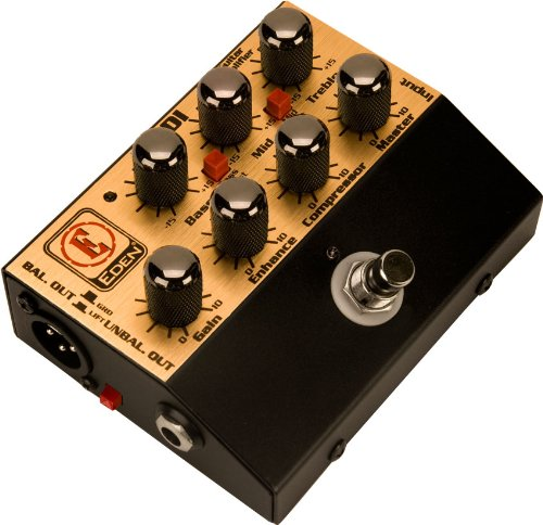 (Eden World Tour Direct Box Preamp Pedal USM-WTDI-U Amplifier Accessory)