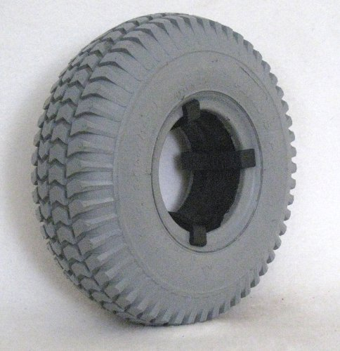 10''X3'' (260-85) Primo Power Trax Foam Filled Tire for Scooters, Power Chairs and Electric Wheelchairs