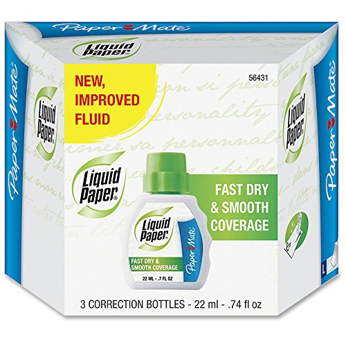 Liquid Paper Fast Dry Correction Fluid, 18 Pack(5643115) by Liquid Paper (Image #1)