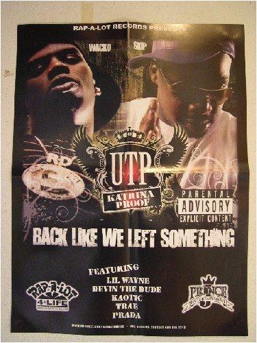 Utp Poster Skip Wacko Back Like We Left Something