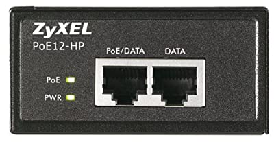 ZyXel COMMUNICATIONS POE12HP Single Port PoE Injector 30W