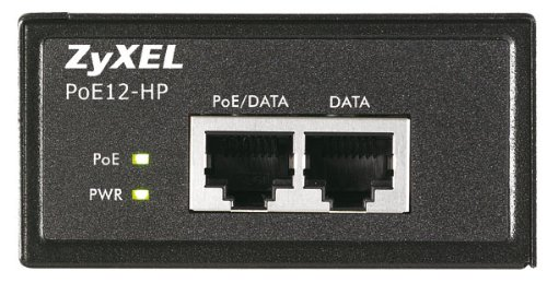 ZyXel COMMUNICATIONS POE12HP Single Port PoE Injector 30W by ZyXEL