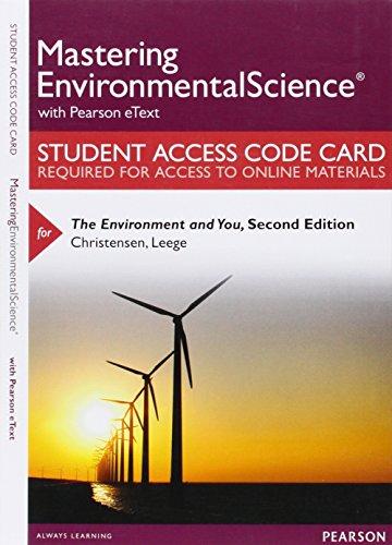 Environment+You Masteringenvironment...