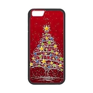 Christmas colorful Christmas tree Phone Case for Iphone 6Kimberly Kurzendoerfer