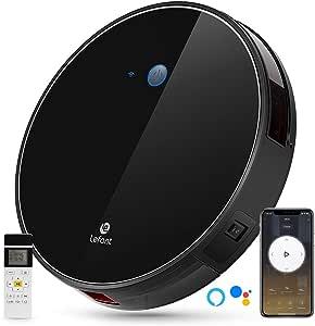 LEFANT Robot Aspirador WiFi Aspirador de Limpieza con App, Succión Fuerte 2200 Pa Aspiradora Robot con Alexa y Google, Navegación Inteligente, Silencioso, Auto-Carga, para Pelo de Mascotas M520: Amazon.es: Hogar