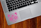 """Sugar Skull Cat Kitty - Day of the Dead - Dia de los Muertos - Laptop 