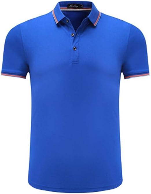 Mr.BaoLong&Miss.GO Hombres Camiseta Polo Camisas De Solapa Se ...