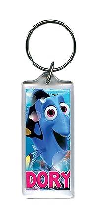 Amazon.com: Disney Finding Dory Lucite de plástico llavero ...
