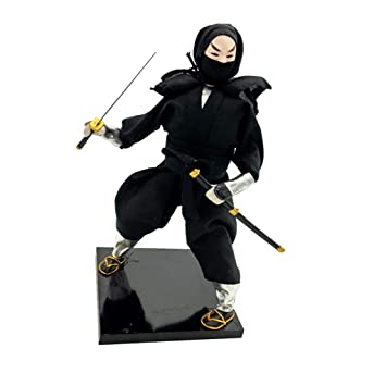 Baoblaze 12 Pulgadas Modelismo de Samurai Japonés Ninja ...
