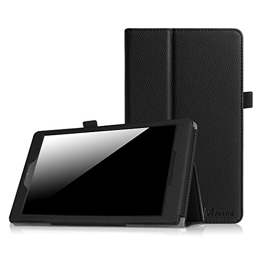 Fintie Folio Case for Fire HD 8 (2015 Model 5th Gen Only) - Slim Fit Premium Vegan Leather Standing Cover with Auto On/Off for Amazon Fire 8