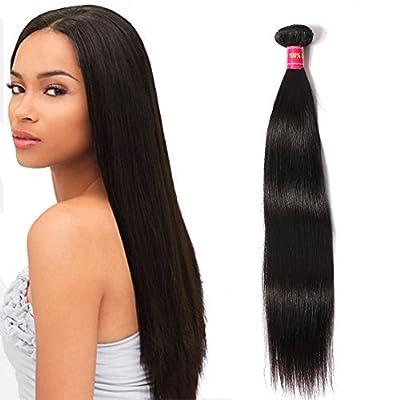"ALi Queen 1 Bundles 8""-30"" Brazilian Straight Virgin Human Weave Hair 100% Unprocessed Human Hair Extensions"