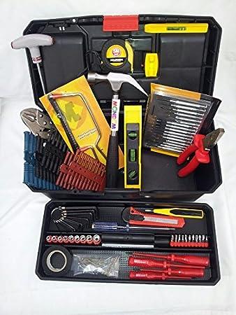 Caja de Herramientas Completa: Amazon.es: Bricolaje y herramientas