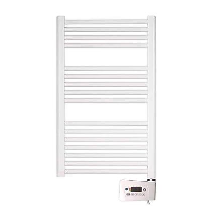 farho - Radiador Toallero Eléctrico Blanco Nova Little, con 400W (Medidas : 800 x