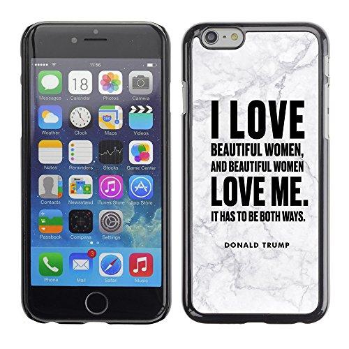 """Print Motif Coque de protection Case Cover // Q04040545 Donald Trump marbre gris // Apple iPhone 6 PLUS 5.5"""""""