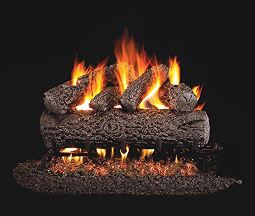 Peterson Real Fyre 18 Inch Post Oak Gas Logs Only No ()
