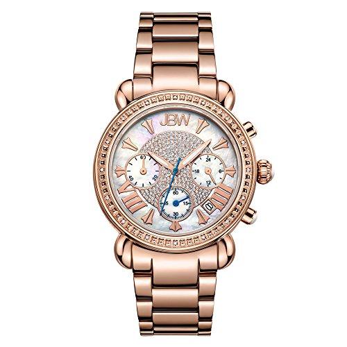 Womens Diamonds 20 Watch (JBW Women's JB-6210-K Victory Diamond Chronograph Watch)