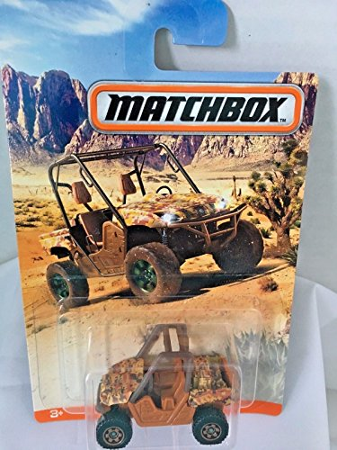 NEW 2017 Matchbox Camo Series Yamaha Rhino Tan Camo Rare and New (Camo Rare)