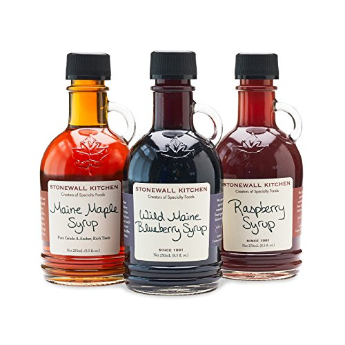 (Stonewall Kitchen 3 Piece Syrup Collection)